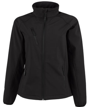 Tee Jay's women's Performance softshell jacket , Black