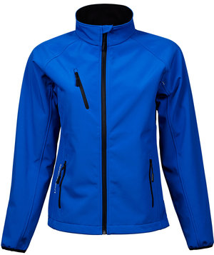 Tee Jay's women's Performance softshell jacket , Blue