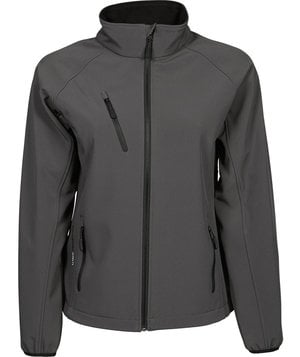 Tee Jay's women's Performance softshell jacket , Dark-Grey