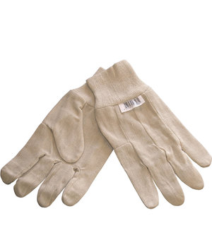 OX-ON woven cotton gloves, Nature