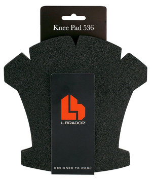 L.Brador knee pads 536, 2-pack, Black