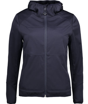 ID Combi Stretch women's softshell jacket, Navy