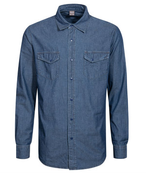Hejco denim shirt, Denim Blue