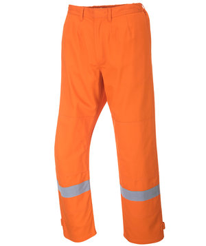 Portwest BizFlame Plus arbejdsbukser, Orange