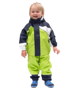 Elka kids rain set, Lime Green