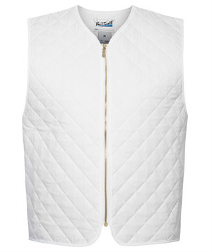 Fristads thermal waistcoat, White