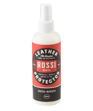 Rossi Leather Protector til ruskind og nubuck, 200 ml, Transparent