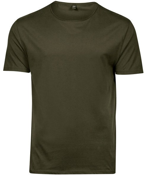 Tee Jays Raw Edge T-Shirt, Olivgrün