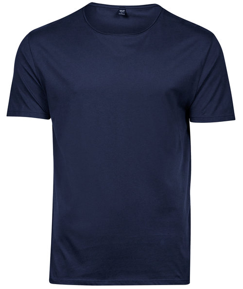 Tee Jays Raw Edge T-Shirt, Navy