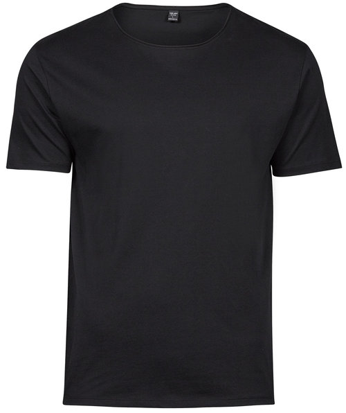 Tee Jays Raw Edge T-Shirt, Schwarz