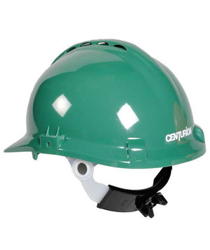 Centurion safety helmet, Green