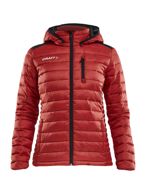Craft Isolate Damenjacke, Bright Red/Black