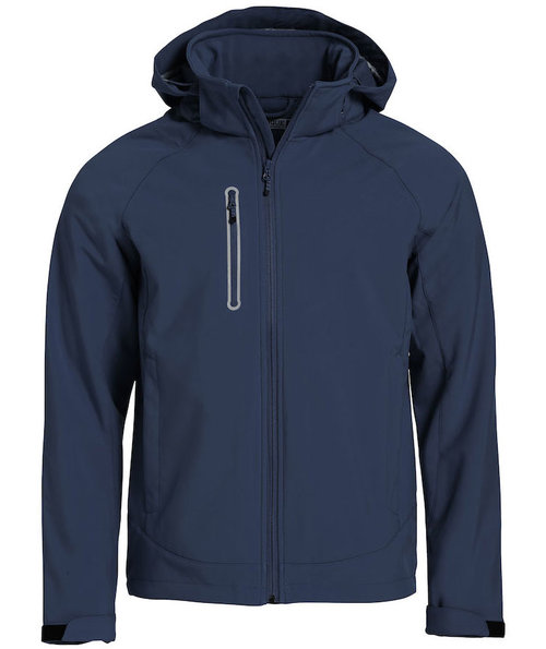 Clique Milford softshell jacket, Navy