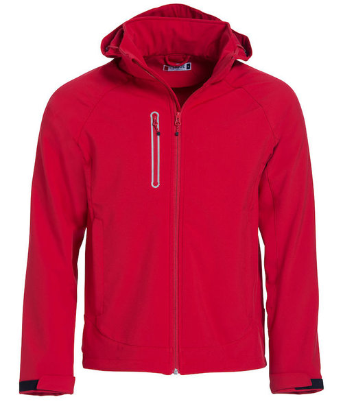 Clique Milford softshell jacket, Red