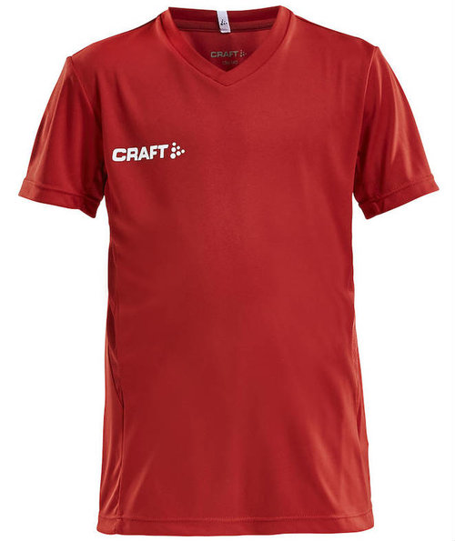 Craft Squad sports T-shirt barn, Bright Red