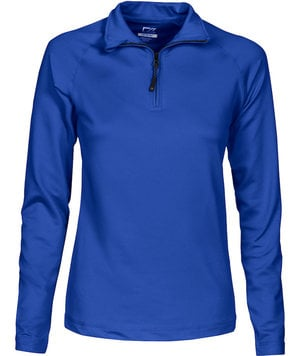 Cutter & Buck Coos Bay halfzip cardigan, Royal Blue