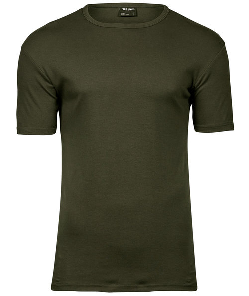 Tee Jays Interlock T-shirt, Dark Olive