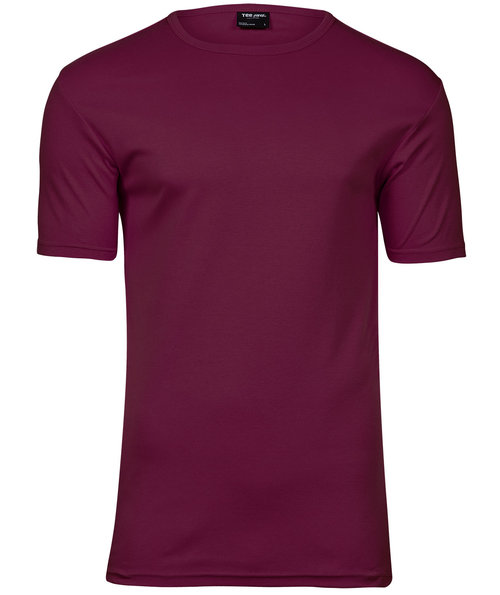 Tee Jays Interlock T-shirt, Mörkröd
