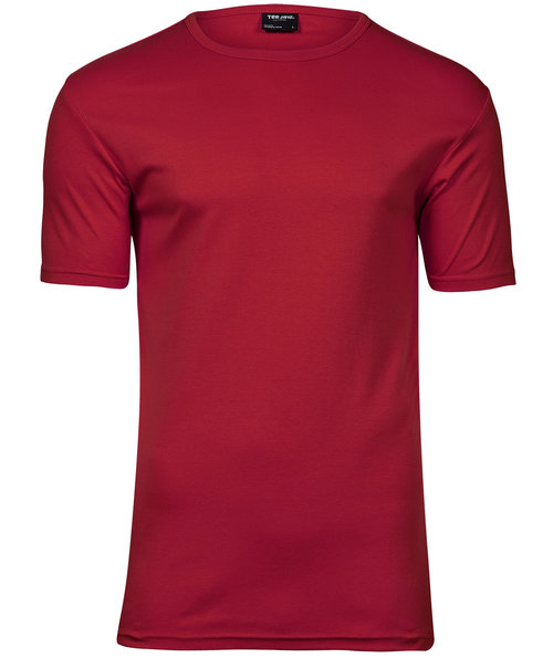 Tee Jays Interlock T-shirt, Rød