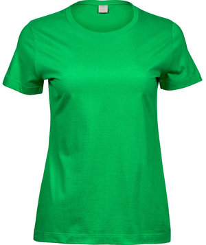 Tee Jays dame T-shirt 100% bomuld, Spring Green