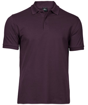 Tee Jays Luxury Stretch pikétröja, Plum