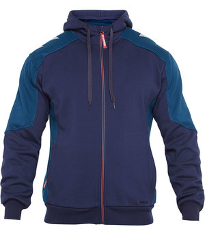 2nd quality product FE Engel Galaxy sweat cardigan, Blue Ink/Dark Petrol
