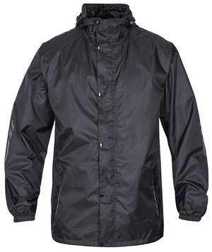 2nd quality product FE Engel rain jacket, Black