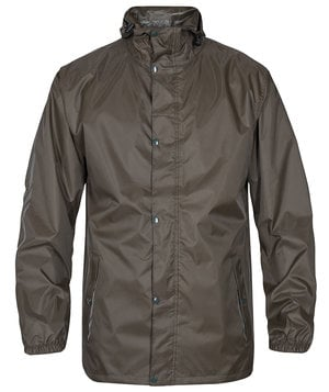 2nd quality product FE Engel rain jacket, Forest green