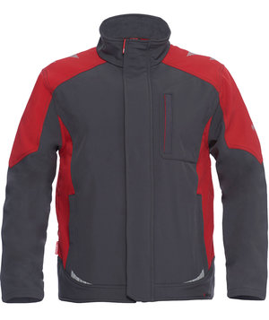 2nd quality product FE Engel Galaxy softshell, Antracit grey/Tomato red