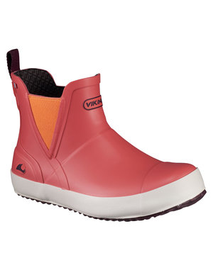 Viking Stavern rubber boots for junior,  Coral