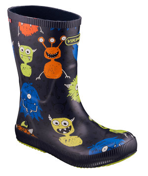 Viking Classic Indie Monsters rubber boots for kis, Navy