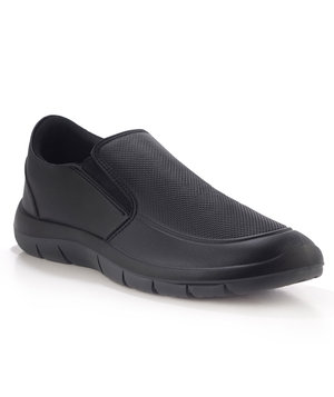 Codeor Magic loafer arbejdssko O1, Sort