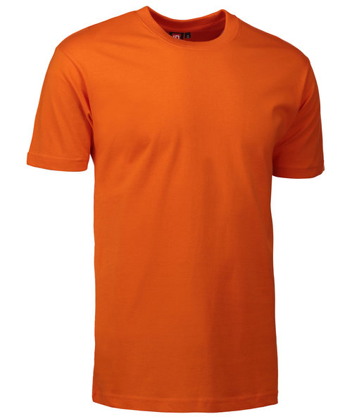ID Identity T-Time T-shirt, 100% bomull, Orange