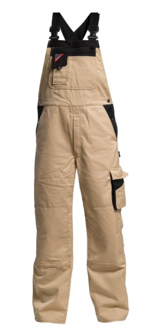 FE Engel Enterprise overalls, Khaki/Sort