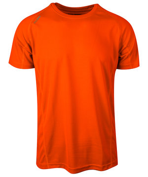 Blue Rebel Dragon T-shirt, Safety orange