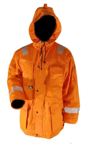 Bulldog Workwear Offshore parkajakke, Orange
