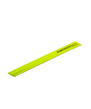 Portwest Slap-Wrap reflective band 41 cm, Yellow