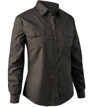 Deerhunter Cari women's shirt, Dark Elm