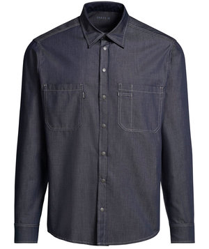 Kentaur denim skjorta , Dark Ocean