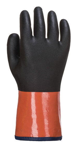 Portwest Chemdex Pro chemical gloves Cut C, Black/Orange