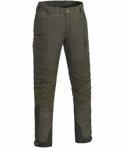 Pinewood Dog Sports Extreme trousers, Dark Olive/Suede Brown