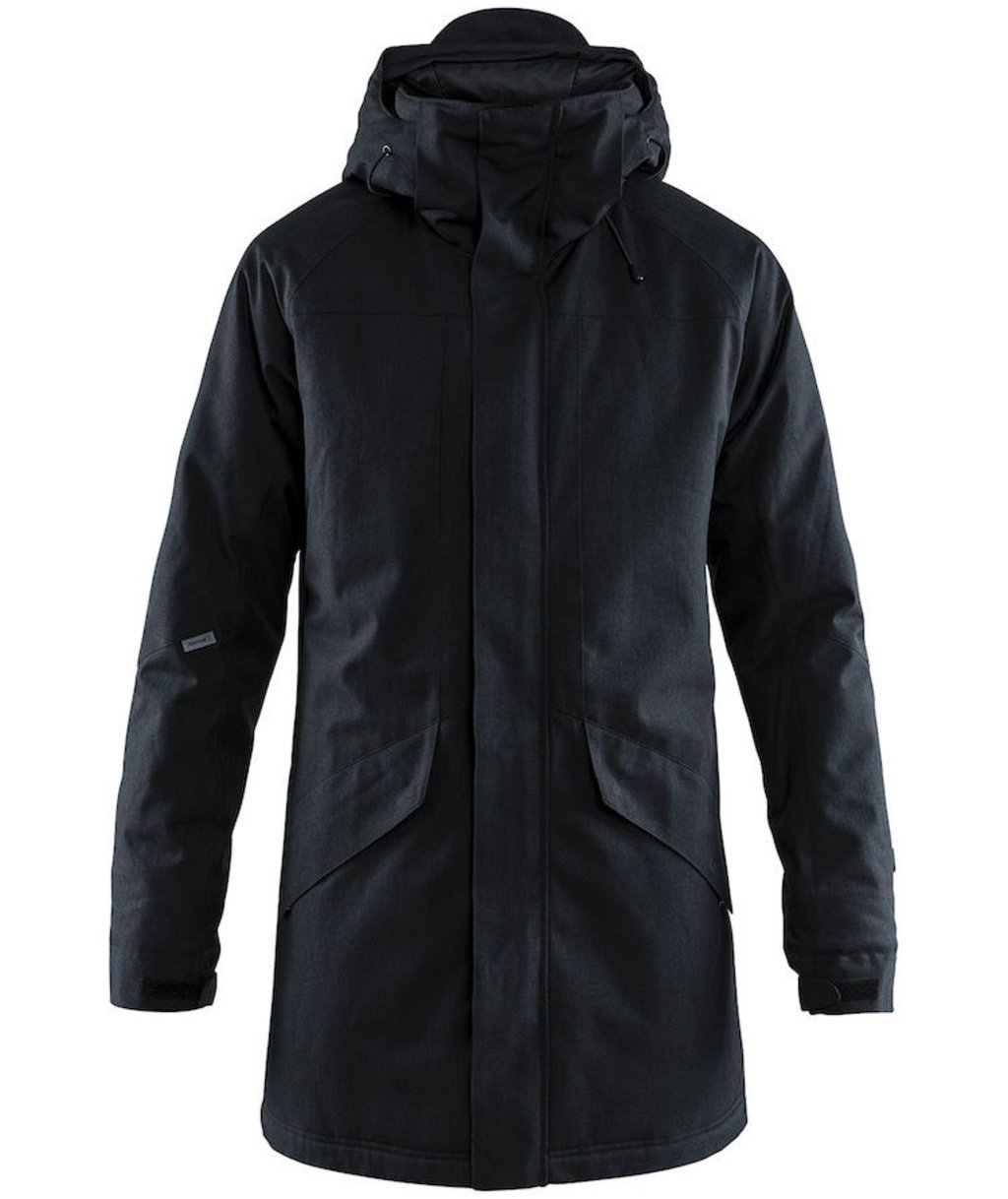 Craft Mountain parka vinterjakke, Svart
