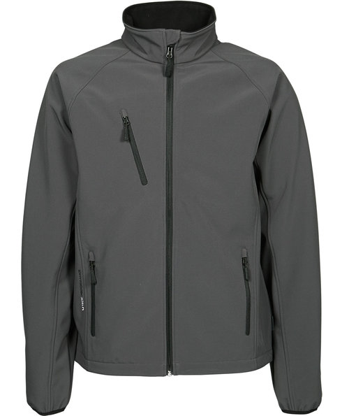 Tee Jays lightweight softshell jacket, Dark Grey
