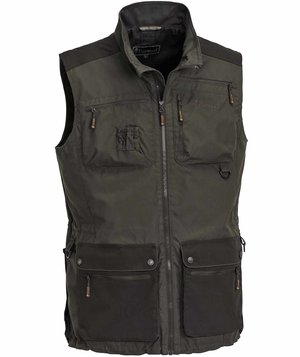 Pinewood New Dog Sports vest, Mørk Oliven/Suede Brun