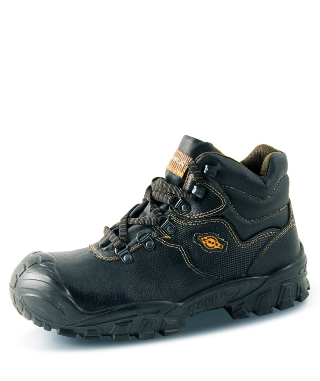 Cofra Nova safety bootees S3, Black