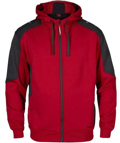 FE Engel Galaxy hoodie, Tomato Red/Antracite Grey