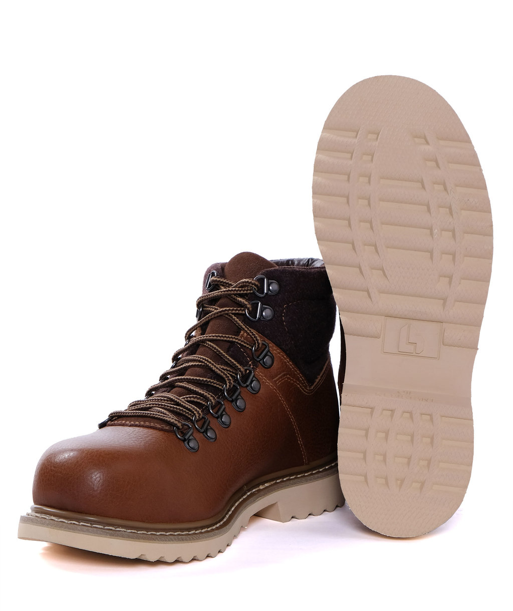 L.Brador safety boots S1P, Brown