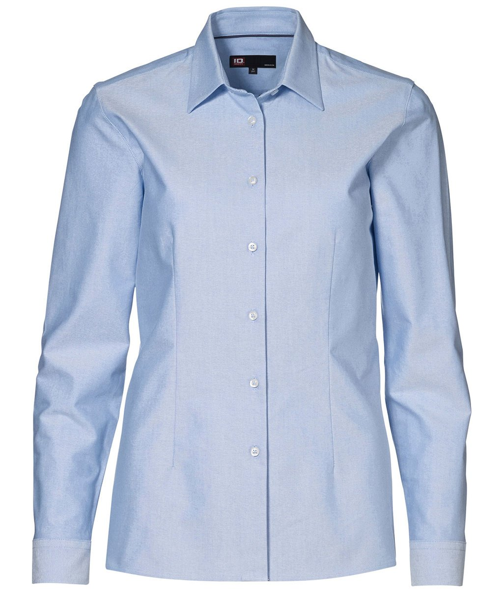 ID Oxford women's shirt , Light Blue