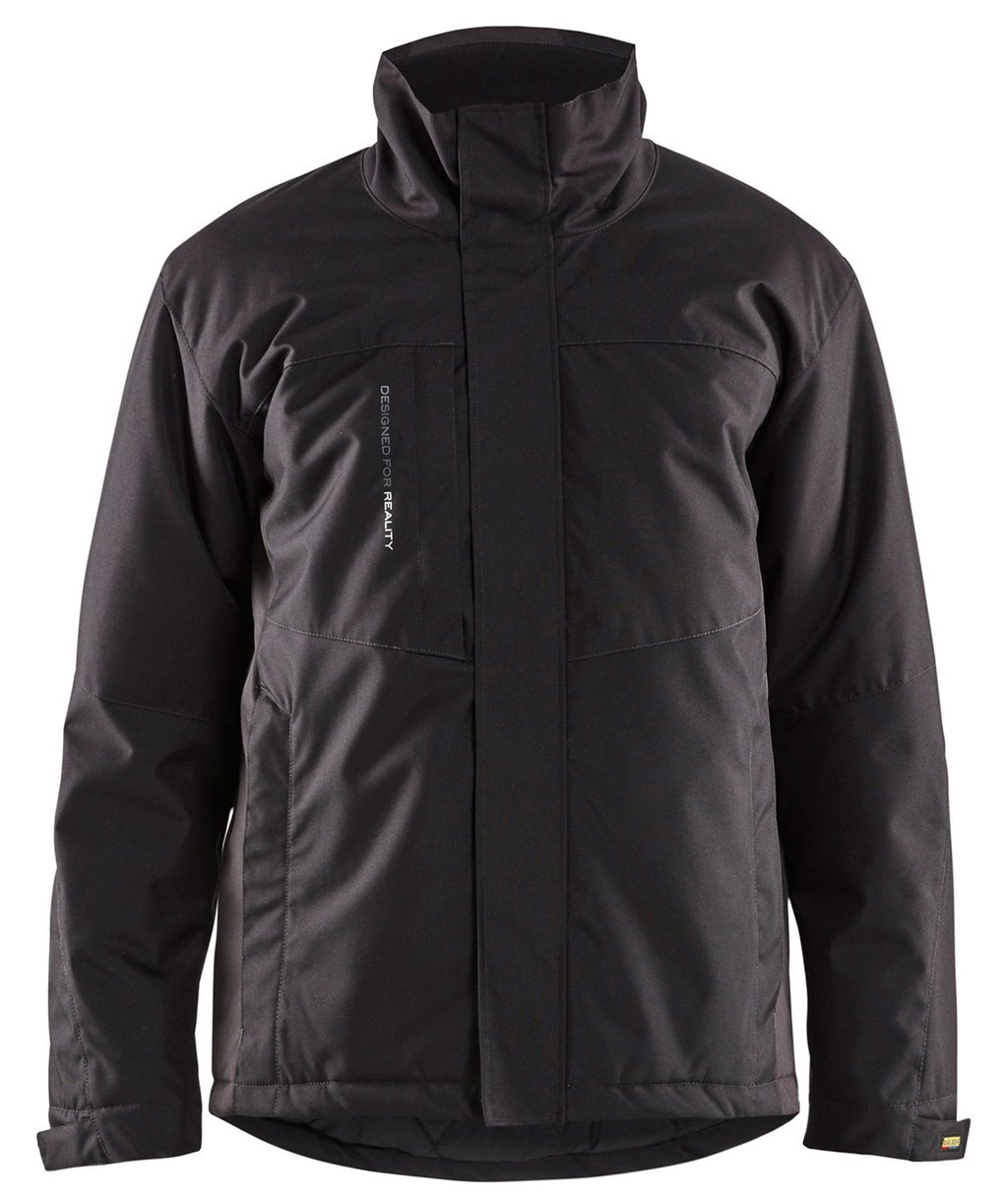 Blåkläder winter jacket, Black/Dark Grey