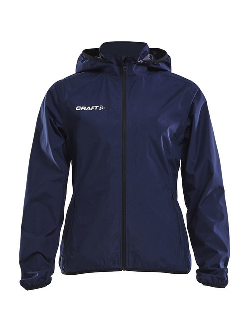 Craft women's rain jacket, Navy/Black
